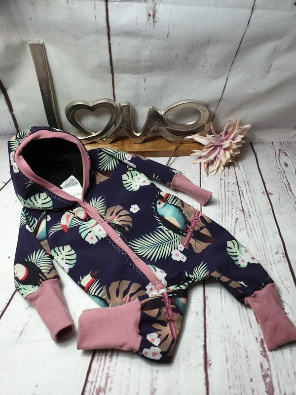 Softshell Overall Tropic